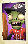 Slugger Zombie PvZ3 portrait