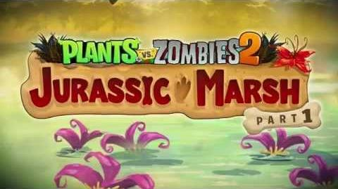 Plants vs. Zombies 2 Jurassic Marsh Part 1 Trailer