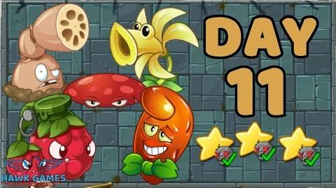Plants vs Zombies 2 China - Steam Ages Day 11 Locked nad Loaded 《植物大战僵尸2》- 蒸汽时代 11天