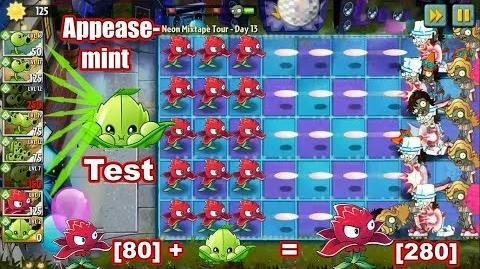 Plants vs Zombies 2 New Appease Mint - Premium Plant Gameplay