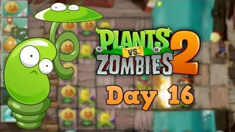 Plants vs Zombies 2 Pirate Seas Day 16 Walkthrough