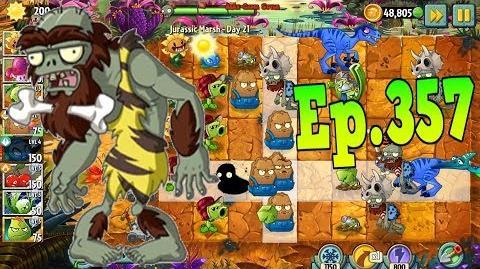 Plants vs. Zombies 2 - New zombie Jurassic Bully - Jurassic Marsh Day 21 (Ep
