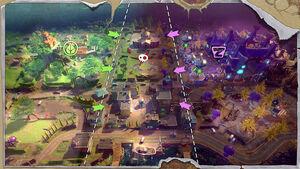 Podwórkowe pole walki mapa