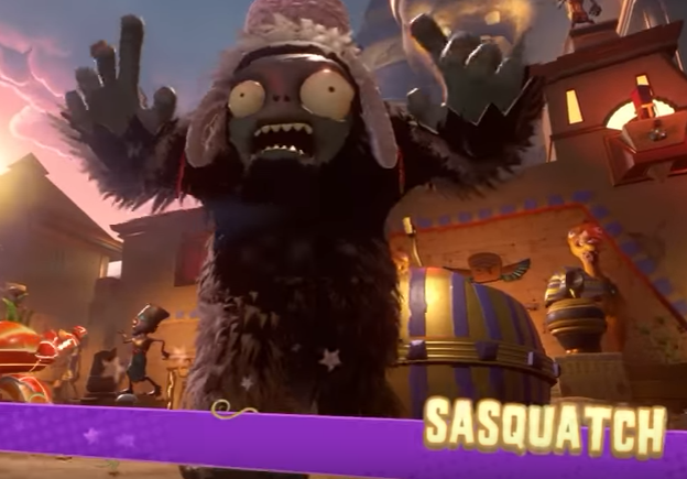 Sasquatch | Plants vs  Zombies Wiki | FANDOM powered by Wikia