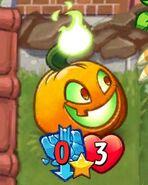 Jack o Lantern with no strength