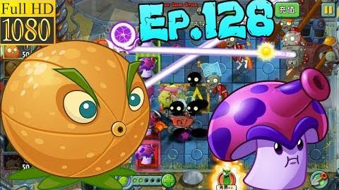 Plants vs. Zombies 2 (China) - Unlocked Citron and Spore-shroom - Far Future Day 14 (Ep