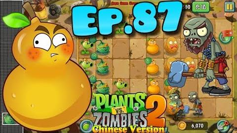 Plants vs. Zombies 2 (China) New Hammer Zombie, New Costumes - Kung-Fu World Day 2 (Ep