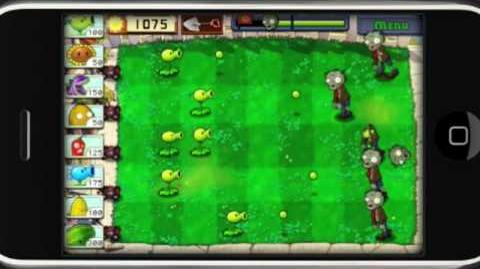 Plants vs. Zombies for iPhone Game Trailer - Game Launches 2 15!