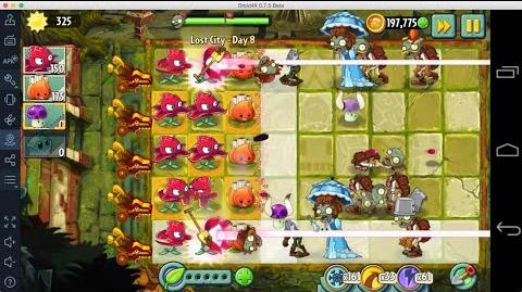 Plants vs Zombies 2 - Lost City Day 8