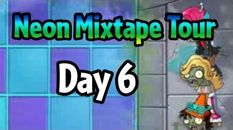 Plants vs Zombies 2 - Neon Mixtape Tour Day 6 (Beta) Glitter Zombie