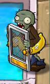 Screen door ducky tube zombie