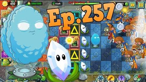 Plants vs. Zombies 2 - Produce at least 5000 sun, No more than 16 plants. Far Future Day 21 (Ep