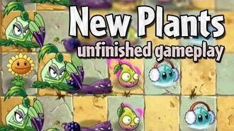 PvZ2 - Pokra, Imp Pear, Blastberry Vine and New Zombie-0