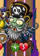 Captain Deadbeard with two traits or more
