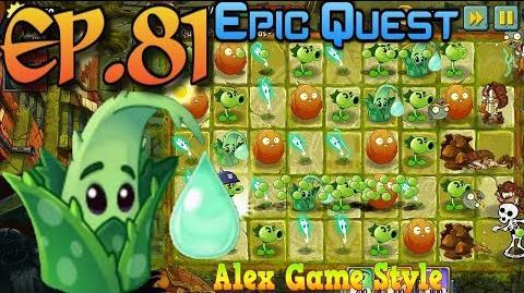 Plants vs. Zombies 2 Epic Quest Premium Seeds Aloe Premium Plant Quest (Ep