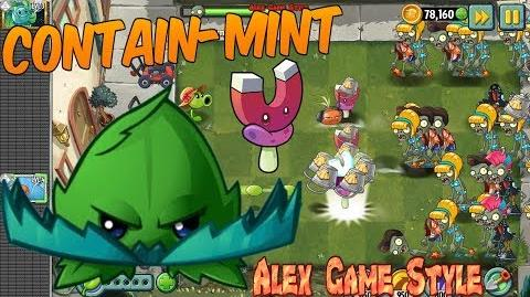 Plants vs. Zombies 2 - CONTAIN-MINT - Quest, Max level Quest (Ep