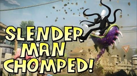 Slender Man Gets CHOMPED! - PvZ Garden Warfare EASTER EGG PC Update