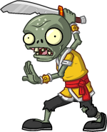 Swordsman Zombie
