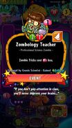 Zombology Teacher conjured by Cosmic Scientist