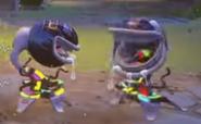 2 Carnivoras Disco Juntos