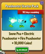 Peashooter Starter Pack
