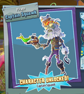 Unlocked captain squawk