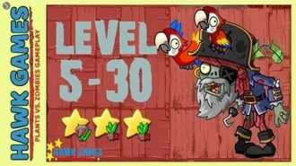 V1.0.81 Plants vs. Zombies All Stars - Pirate Seas Level 5-30 BOSS Pirate Captain Zombie