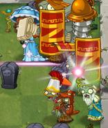 Healer Zombie Ability