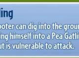 Pea Gatling