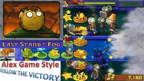 Plants vs. Zombies - Puzzle Last Stand - Fog (Android Gameplay HD) Ep