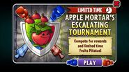 Apple Mortar's Escalating Tournament