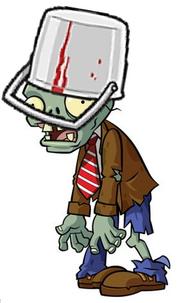 Buckethead Zombie Bucket Tilted