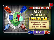Aloe's Escalating Tournament