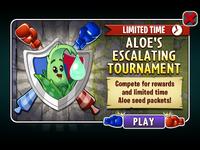 Aloe's Escalating Tournament