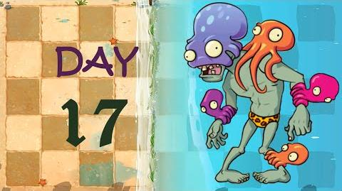Android Plants vs. Zombies 2 - Big Wave Beach Day 17