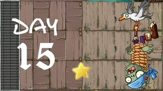 Android Plants vs. Zombies All Stars - Pirate Seas Day 15