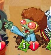 Bullseye Disco Zombie