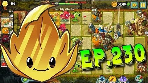 Plants vs. Zombies 2 Got a new Plant Gold Leaf - Lost City Day 26 (Ep