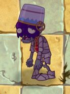 Poisoned Buckethead Mummy Zombie