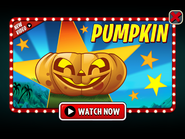 Pumpkin Video Ad PvZ 2