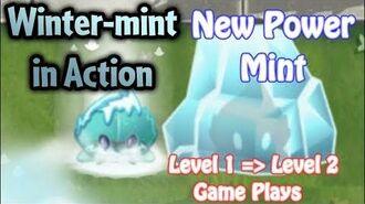 WINTER-MINT! New Power Mint! - Plants vs. Zombies 2 - Gameplay (Brick league)