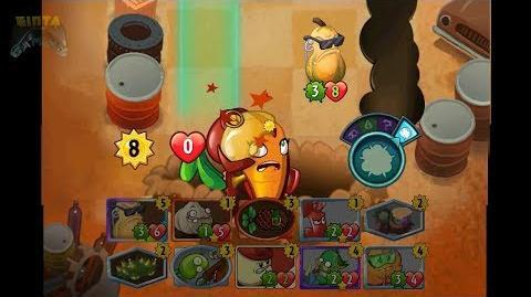 Beta-Carrotina Gameplay New Hero - Plants vs Zombies Heroes