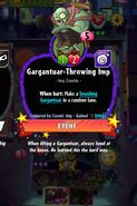 Garg-Throwing imp conjured by cosmic imp