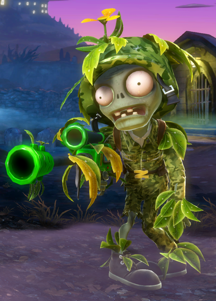 Camo Ranger | Plants vs  Zombies Wiki | FANDOM powered by Wikia