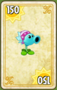 Snow Pea Costume Card