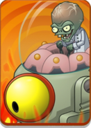 Zombot Tomorrow-tron in Volcano Level Icon