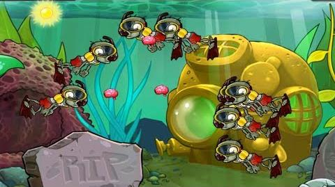 Plants vs. Zombies - Mini Games Zombiquarium (Mini Game Pack 1 - Unlocked 50,000 coins) (HD) Ep