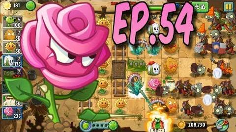 Plants vs. Zombies 2 (Chinese version) Unlocked new Plant White Radish Wild West Day 1 (Ep
