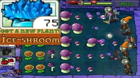 Plants vs. Zombies Adventure Got a Ice-shroom level 2-7 Night (Android Gameplay HD) Ep