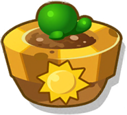 Sun Up Plant Pot Icon